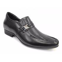 Sapato Social De Couro Jota Pe 19102 Com Salto De 6,5 Cm