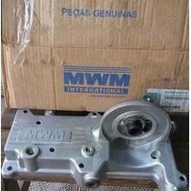 Tampa Radiador Óleo F1000 F4000 Motor 226 229 Original Mwm