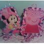 Piñatas Afiche Con Cintas Frozen Sofia Minions Mickey Peppa