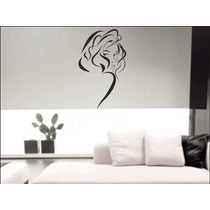 Mural Vinilo Decorativo Plotter Pared Decoracion Girl