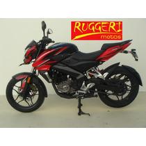 Bajaj Rouser 200 Ns 2016 Color Negro Rojo Blanco Moto 0km