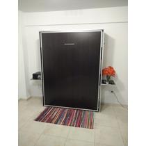 Cama Rebatible 1 Plaza Ideal Monoambientes Calidad Garantia