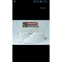 Zapatos Deportivos Blancos Colegiales Pocholin Pocas Tallas