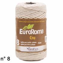 30rolos - Barbante Ecológico Cru N8 76m Euroroma Gritty