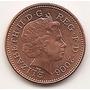 Moneda Gran Bretaña Inglaterra 1 Penny One Penny Año 2006 #