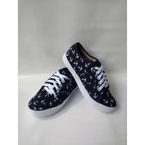 Calzado Para Dama Bolichero Jeans Zapato Tenis Envío Gratis