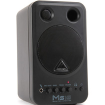 Ms16 Monitor Behringer Ms 16 Ativo Par Woofer 16 Watts Novo