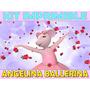 Kit Imprimible Angelina Ballerina Cumpleaños Tarjetas Y Mas