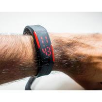 Relógio Sport Digital Led Emborrahado Corrida Prova Água
