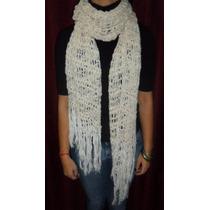 Pashmina De Hilo Verano Crochet Regalo Dia De La Madre