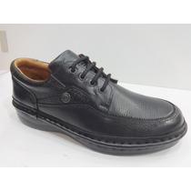 Zapato 100% Cuero Ringo Art 3696 Color Negro