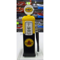 1:18 Bomba De Gasolina Metalica Pennzoil Diorama
