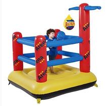 Arena Inflável Pula Pula Basquete Boxe Cercadinho Brinquedo