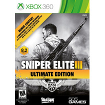 Xb360 - Sniper Elite Iii Ultimate Edition - Nuevo - Ag