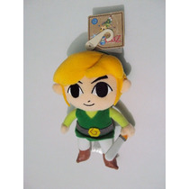 The Legend Of Zelda Phantom Hourglass Peluche De Link Nuevo