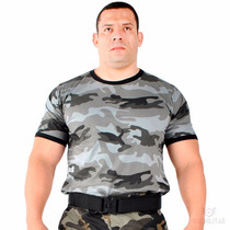Camiseta Camuflada Urbano Militar Original - Loja Oficial