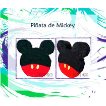 Piñata De Mickey Y Minnie