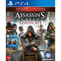 Jogo Assassin`s Creed- Syndicate - Signature Edition - Ps4