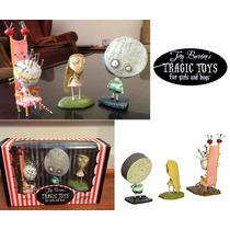 Tim Burton Set 3 Figuras Para Fanaticos Y Coleccionistas