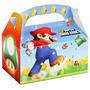 Super Mario Bros Cajita Tipo Mc Donal Cotillon O Regalos