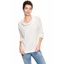 Sweater Gap Color Crema Talla L Importado