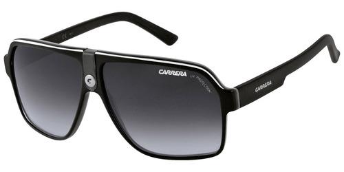 3d7aa41c74a02 Óculos Carrera 33 8v6 Black White Original 27 40 39 22 32 50 - R  399
