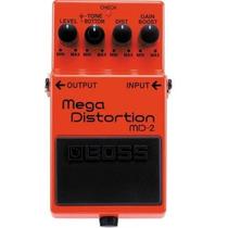 Pedal Boss Md2 Mega Distortion, Atacado Musical Sp 10131