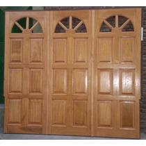 Portón Levadizoen Madera 2.40x2.00
