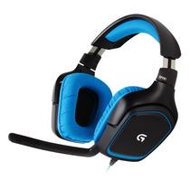 Headset Logitech G430 Usb Gamer 7.1 Surround Microfono