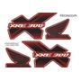 Kit Adesivos Honda Combined Abs Xre 300 2013 Vermelha