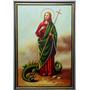 Cuadro De La Virgen Santa Marta De 60x90 Cm Envío Gratis