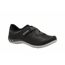 Tênis Feminino Kolosh C0630 Couro Conforto Velcro + Frete
