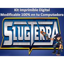 Kit Imprimible Bajo Terra Slug Terra