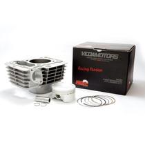 Kit Cilindro 190cc Completo Titan/fan/bros150 Pistão 64,5mm