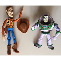 Set Woody & Buzz Lightyear - 2 Muñecos Toy Story (18 Cm)
