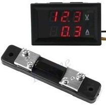 Voltimetro-amperimetro + Shunt Resistor Led Digital