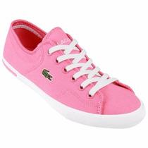 Zapatillas Lacoste Lona Ramer Auo Mujer/ Brand