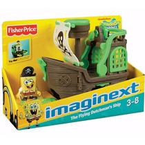 Navio Do Pirata Bob Esponja Fisher Price Imaginext
