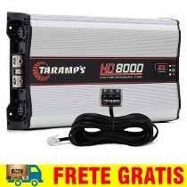 Módulo Amplificador Taramps Hd-8000 Rms C/ Voltimetro 2 Ohms