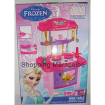 Cocina De Frozen Para Niñas Luz Y Sonido*somos Tienda Física