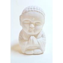 Pieza De Yeso: Buda Bebe Rulitos Rezando.