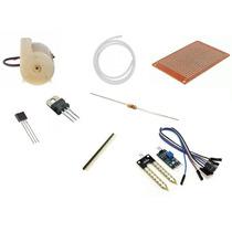 Kit De Irrigação Com Sensor De Umidade De Solo E Mini Bomba