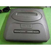 Mega Drive 3 Com 43 Super Jogos 100% Tectoy(só Console)
