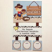 Cartel De Nacimiento Puerta, Habitación, Clínica