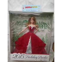 Muñeca Barbie Felices Fiestas 2015 Holiday