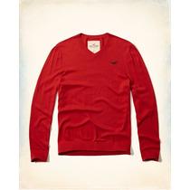 Sweater Hollister Blusa De Frio Hollister Masculino Suéter