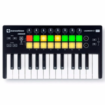 Novation Launchkey Mini Teclado Controlador Midi 25 Mkii V2