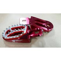 Pedaleira Alumínio Recambiável Crf230 07 / Xr250 Red Dragon