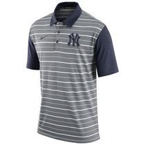 Polo - New York Yankees Dri-fit Stripe Nike