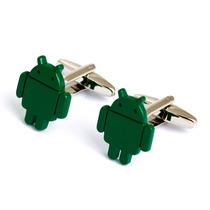 Mancuernillas Android Logo Camisa Traje Celular Smartphone